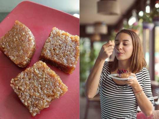 diabetics can eat this sugar free ragi burfi when craving something sweet