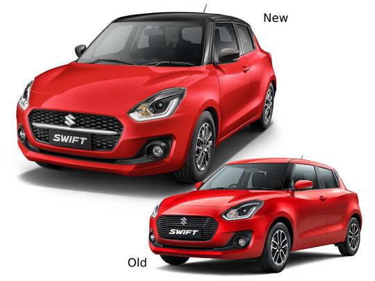 2021 Maruti Suzuki Swift New vs Old