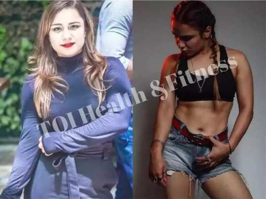 health tips weight loss story mandeep kaur lost 12 kilos weight in 3 months know her workout plan in marathi