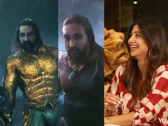 Shilpa Shetty husband Raj Kundra looks just like Aquaman