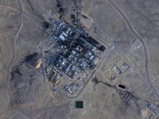 secretive israeli nuclear facility undergoes major project satellite photos, israel undeclared atomic weapons program