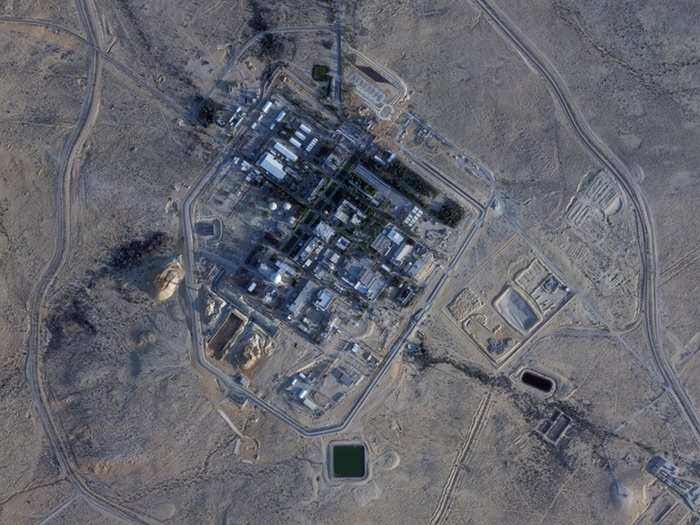 secretive israeli nuclear facility undergoes major project satellite photos, israel undeclared atomic weapons program