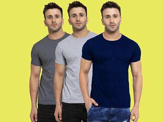 बढ़िया क्वालिटी की स्टाइलिश Men's T-Shirt हैवी डिस्काउंट के साथ खरीदें