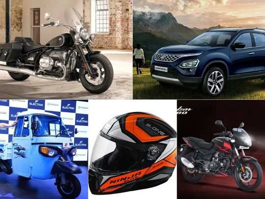 from motorcycle to car to electric rikshaw to helmet here are top five launch in this week