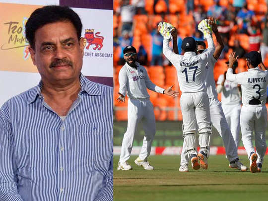 vengsarkar on ahmedabad pitch