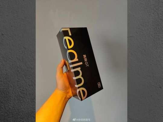 realme GT box
