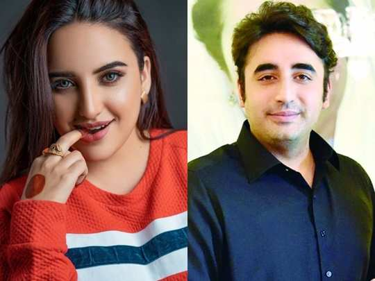 pakistan tiktok star hareem shah expresses her love for bilawal bhutto zardari