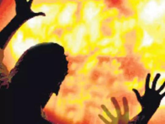 Churu news : महिला ने की दूसरी शादी, तो पिता-भाई ने पेट्रोल डालकर जिंदा जलाया, मौत