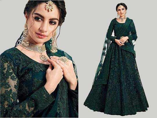 Lehenga Choli : 4,999 रुपए की डिजाइनर Lehenga Choli मात्र 1,999 रुपए में खरीदें, स्टाइलिश दिखने के साथ करें बचत