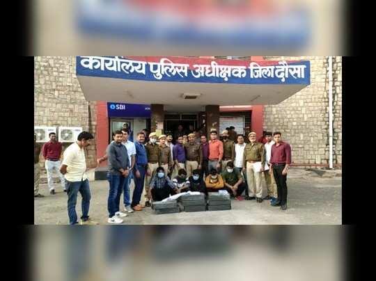 170 वारदातों को अंजाम देने वाला अंतराज्यीय गिरोह चढ़ा पुलिस के हत्थे , Rajasthan-MP में था सक्रिय