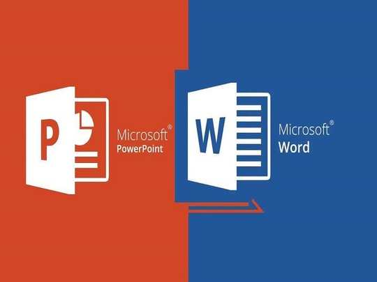 convert MS Word doucment to powerpoint presentation