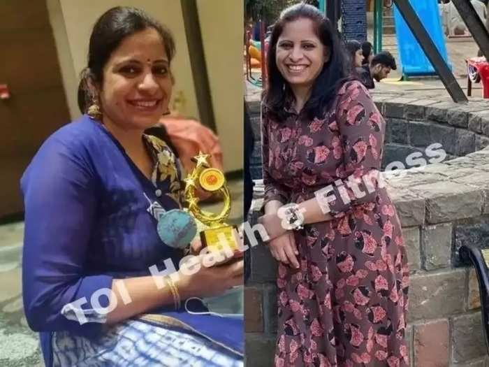 fitness tips 42 year old vinamrata bhatia excluded sugar from diet and lost 11 kg weight in marathi
