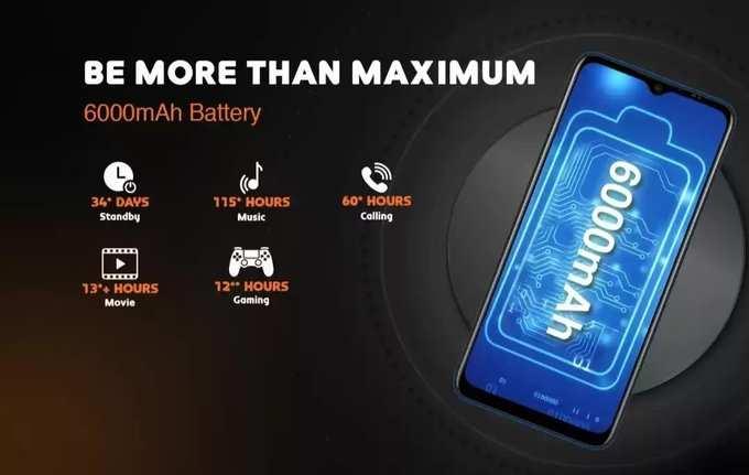 Gionee Max Pro 6000mah battery