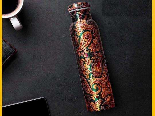 Copper Bottle से पानी पीने के हैं ढेरों फायदे, हैवी डिस्काउंट पर खरीदें