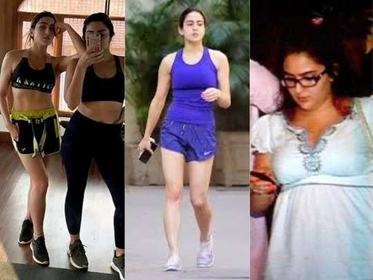 weight loss workouts that helped sara ali khan shed those extra kilos