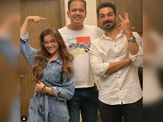rahul mahajan house party rubina steals limelight with pahadi dance arshi abhinav shook a leg on rashke qamar watch viral video and pics
