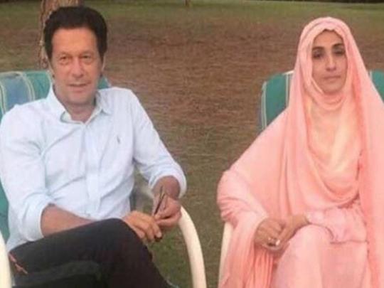 pakistan pm imran khan wife bushra bibi says behind every successful man there his wife