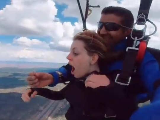 Skydiving proposal