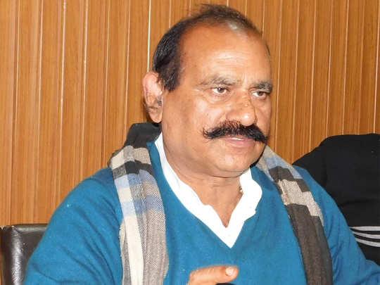 आगरा जेल में बंद हैं विधायक विजय मिश्रा
