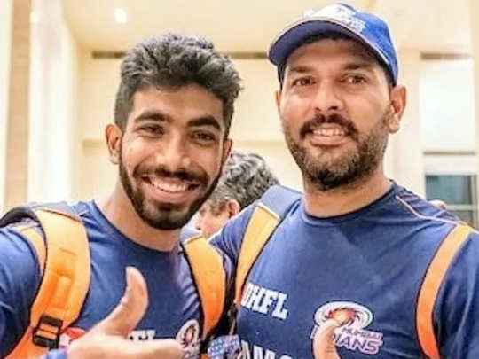 jasprit bumrah and yuvraj singh