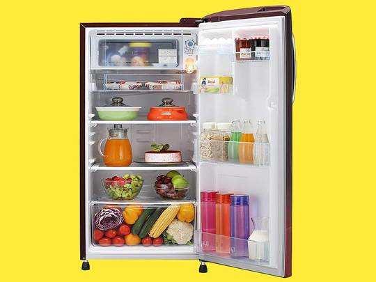डबल और सिंगल डोर Refrigerators में सब्जियों और अन्य फूड्स को घंटों रखें फ्रेश