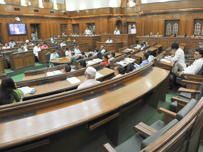 delhi legislature assembly