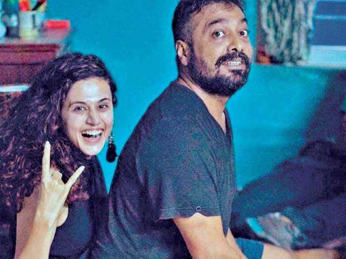Taapsee Pannu and Anurag Kashyap