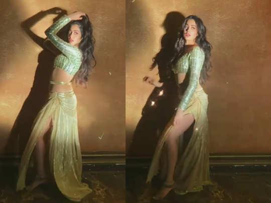 Janhvi Kapoor Dance Moves