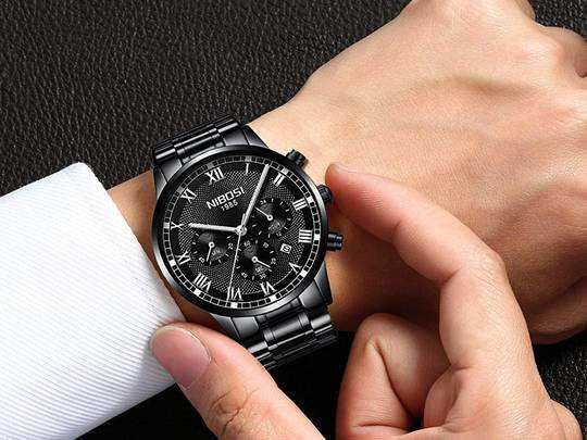Mens Accessories : 71% तक के डिस्काउंट में खरीदें बढ़िया Watches