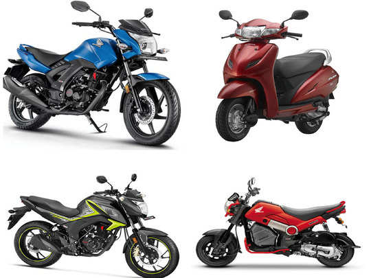 honda 2 wheelers india