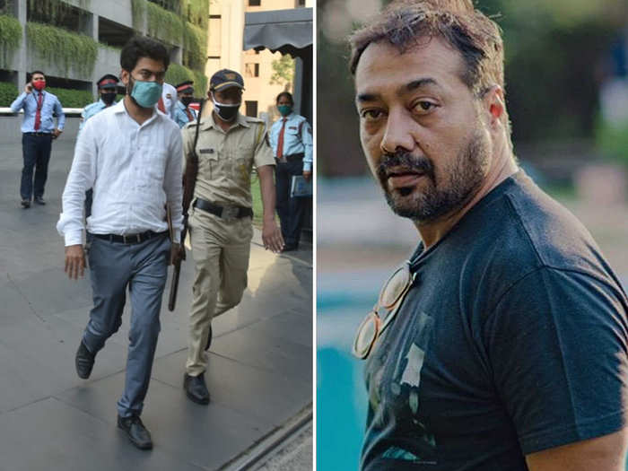 Income Tax Officer Leaving Anurag Kashyap Residence