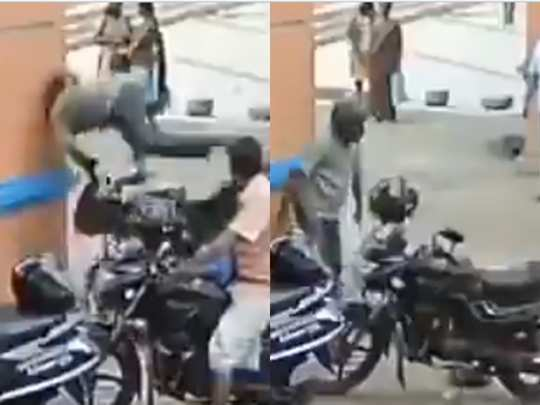 bike accident viral video
