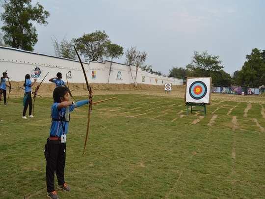 ESL set up archery academy at Sialjori village near Bokaro