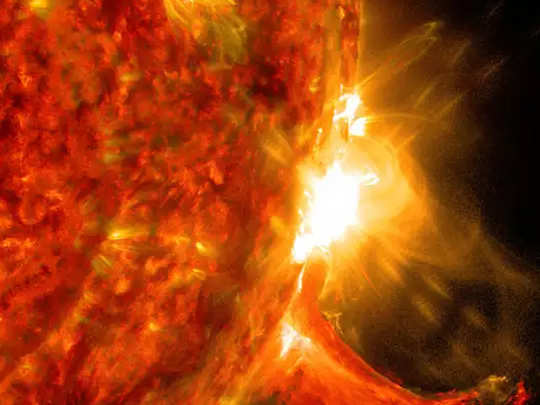 solar storm hitting earth might affect satellite based technology