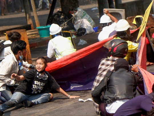myanmar protest kyal sin alias angel killed during anti coup protests in mandalay world shock