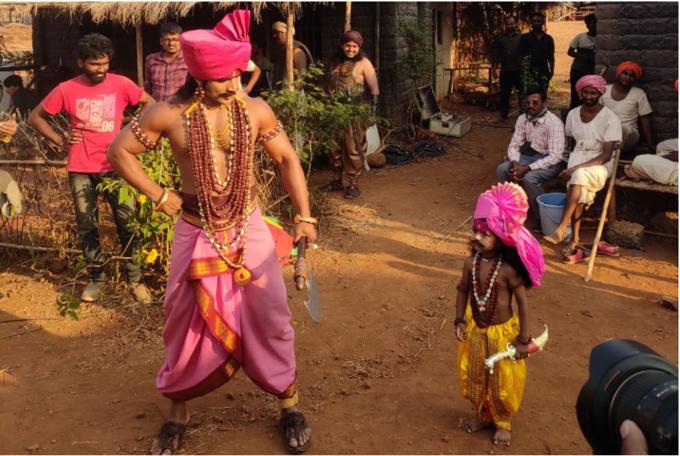 'दख्खनचा राजा ज्योतिबा' मालिकेच्या सेटवर आला चिमुकला चाहता