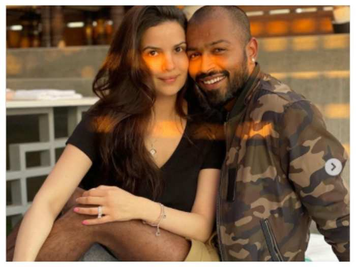 watch happy birthday natasa stankovic hardik pandya wishes his wife natasa stankovic on her 29th birthday with adorable pics you gave me the best gift ever