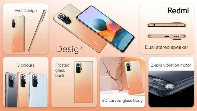 Redmi Note 10 Pro Max Design
