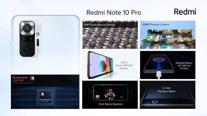 Redmi Note 10 Pro Specs