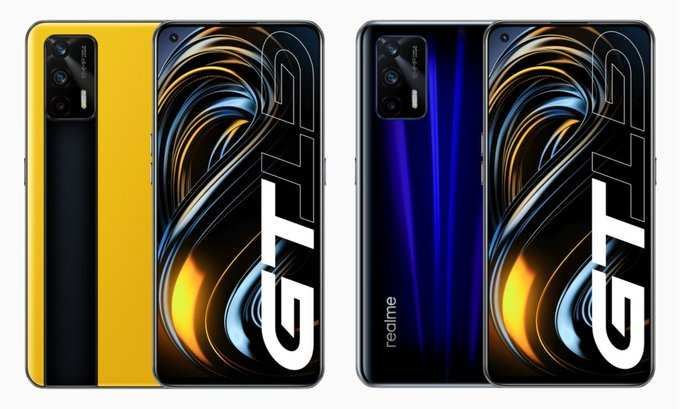 Realme GT 5G Color Variants