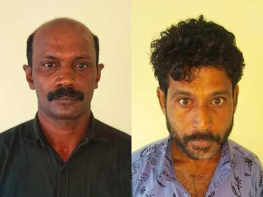 Two arrested for ganja case in Kuthuparamba