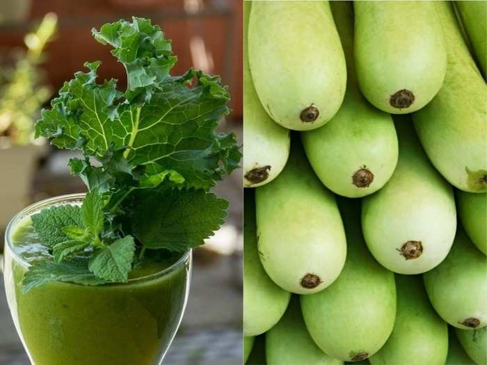 green leafy or green vegetables which are more healthier for you