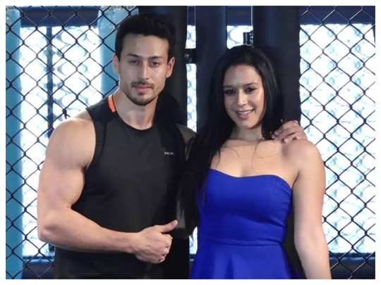 why does tiger shroff want to wrap his sister krishna shroff in a blanket in marathi