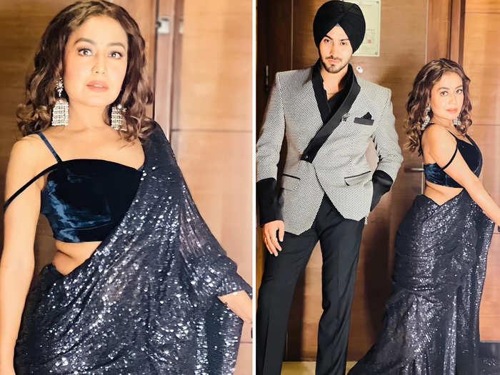 neha kakkar shares stunning photos on instagram husband rohanpreet singh and fans go gaga over singer