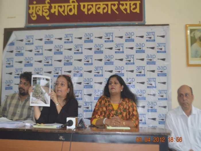 AAP Leader Preeti Sharma