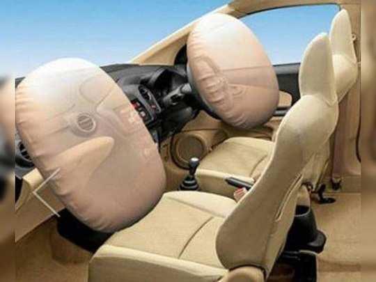 कार की अगली सीट पर अब एयर बैग जरूरी