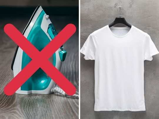 easy hacks to de wrinkle your clothes without iron