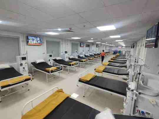 delhi sikh gurudwara kidney dialysis hospital will offer free treatment to all without cash counter