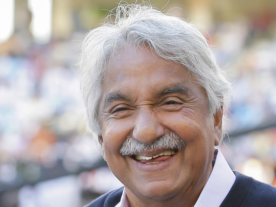 Oommen chandy.