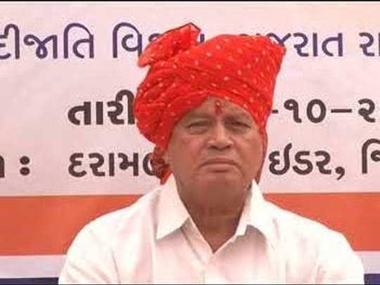 गुजरात के मंत्री रमन पाटकर